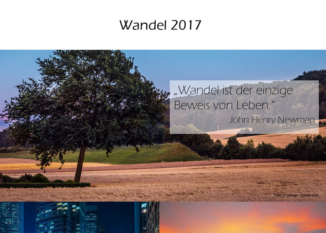Illustration zum Magazin Wandel (2017)