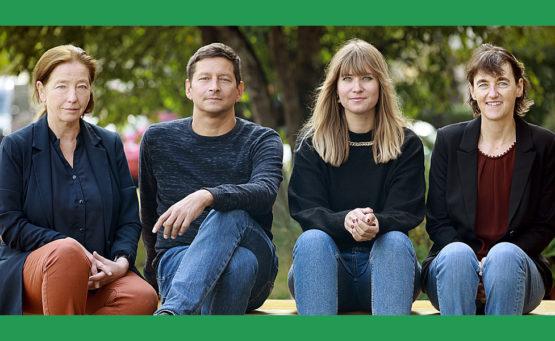 Gruppenfoto Teilnehmer Journalistenakademie September 2020
