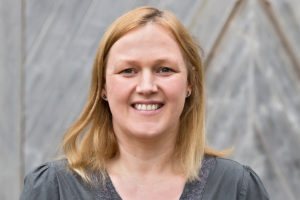 Andrea Körber, Umweltbeauftragte der Herrmannsdorfer Landwerkstätten in Glonn