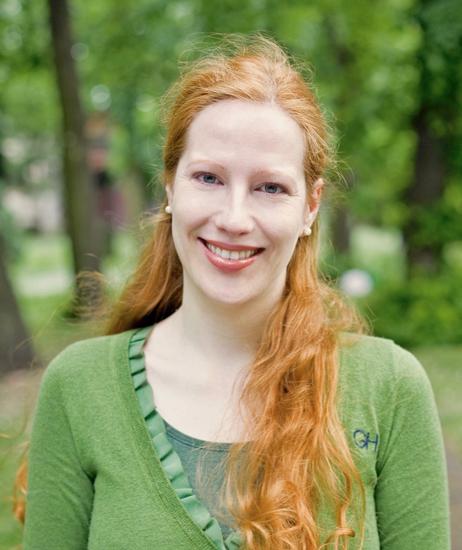 Trauerbegleiterin Sarah Benz