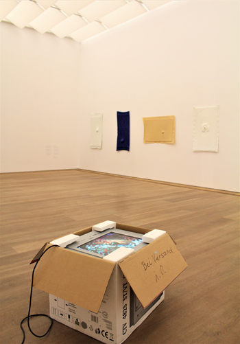 Ausstellung Seth Price im Museum Brandhorst.