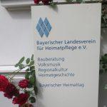 Eingangsschild Bayerischer Landesverein für Heimatpflege