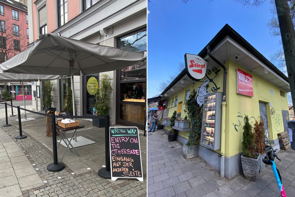 Bar am Gärtnerplatz und Kiosk an der Reichenbachbrücke