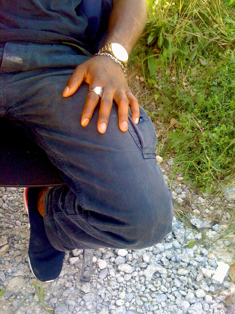 Hand mit Schmuck