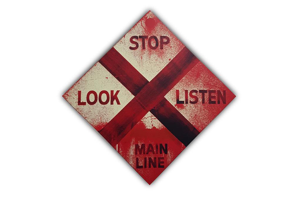 Bild von Gerd Winner Look Stop Listen Main Line