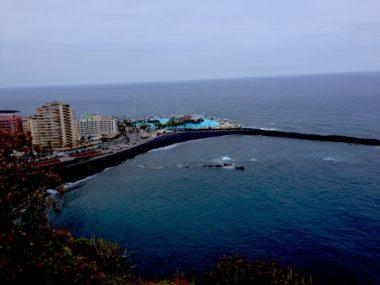 Aussicht auf Puerto de la Cruz und den Atlantik