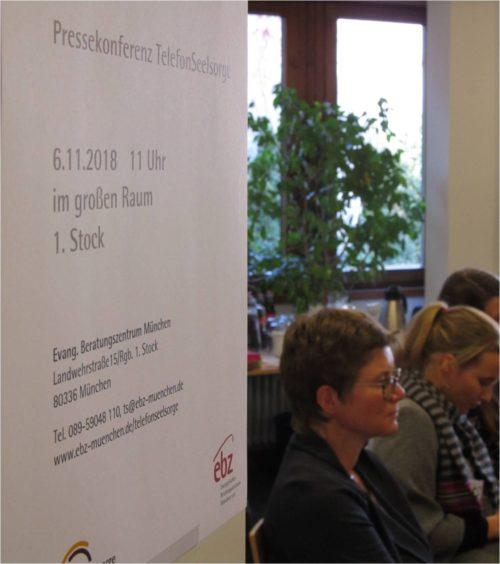 Raum Pressekonferenz 50 Jahre TelefonSeelsorge München