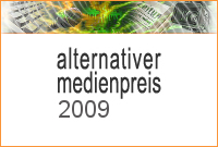 Logo der Digitalen Pressemappe zum Alternativen Medienpreis 2009