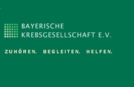 Logo der Bayerischen Krebsgesellschaft e.V.