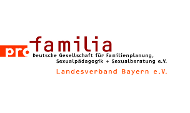 Logo des pro familia-Landesverbandes Bayern