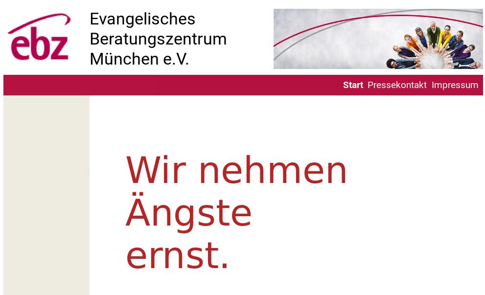 Logo zur Pressekonferenz des ebz München am 15.5.2016