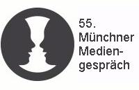Logo der 55. Münchener Mediengespräches