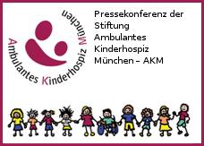 """Logo zur Pressekonferenz """"Stiftung Ambulantes Kinderhospiz München – AKM"""" am 22.6.2015 in München"""