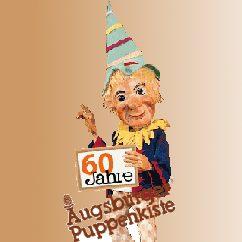 Logo der Digitalen Pressemappe zur Pressekonferenz 60 Jahre Augsburger Puppenkiste