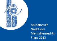 Logo der Münchener Nacht des Menschenrechts-Films 2013
