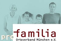 Logo der Digitalen Pressemappe zur Pressekonferenz pro familia München 2009