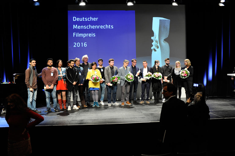 Preisverleihung Menschenrechts-Filmpreis 2016