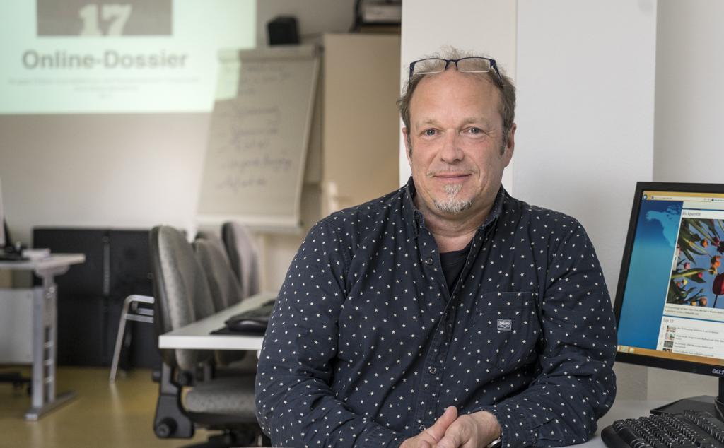 Teilnehmer Adalbert Zehnder möchte künftig als Pressereferent arbeiten