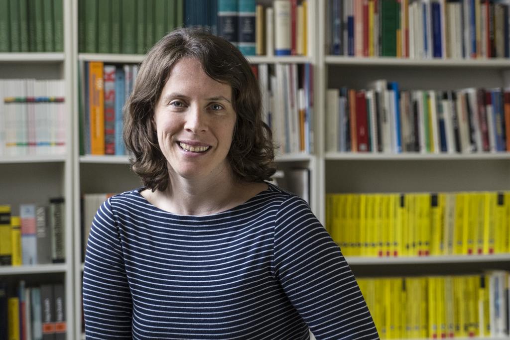 Lehrgangsteilnehmerin Presserefernt Anna Falkenberg