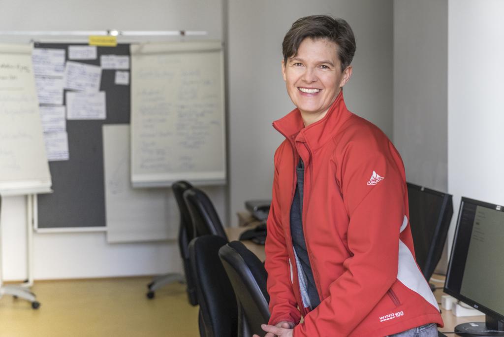 Lehrgangsteilnehmerin Brigitte Tacke