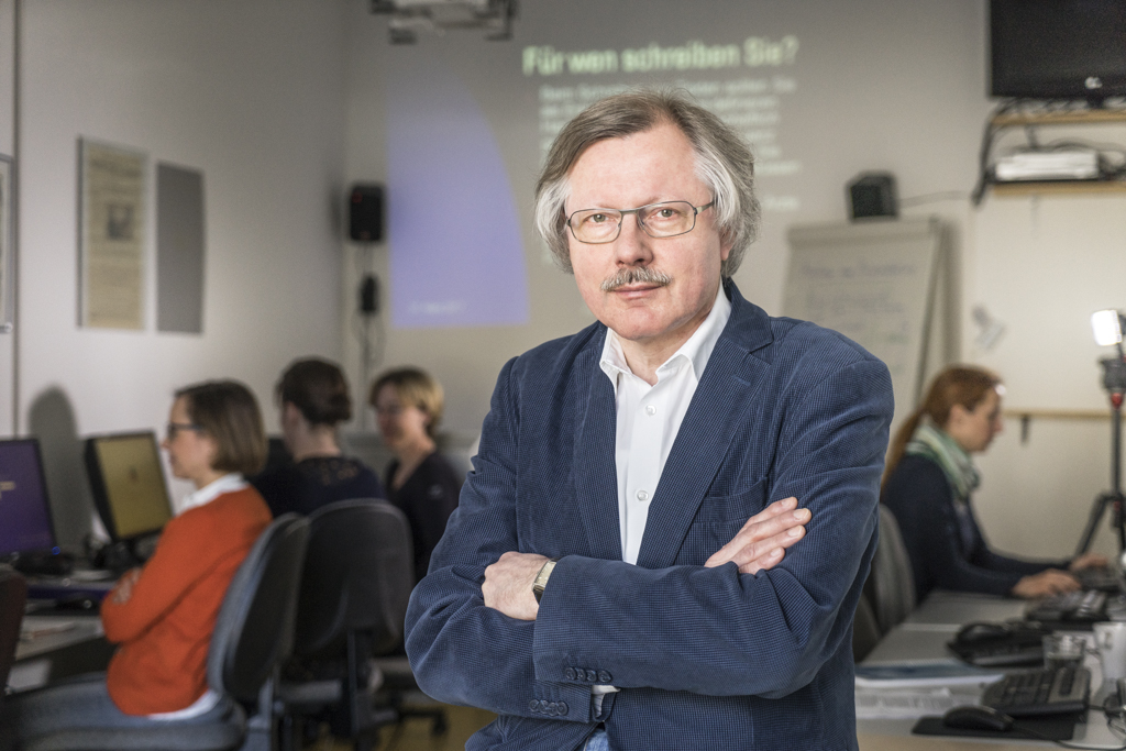 Institutsleiter und Dozent Peter Lokk