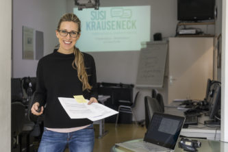 Moderatorin und Mediencoach Susi Krauseneck