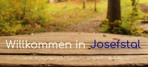 Landschaftsbild auf der Startseite josefstal.de