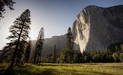Landschaft im Yosemite Valley