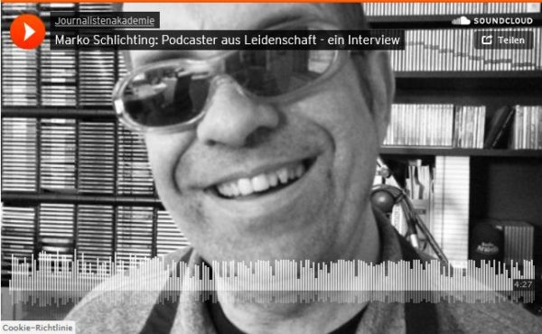 Ein Audiobeitrag zum Thema Podcast
