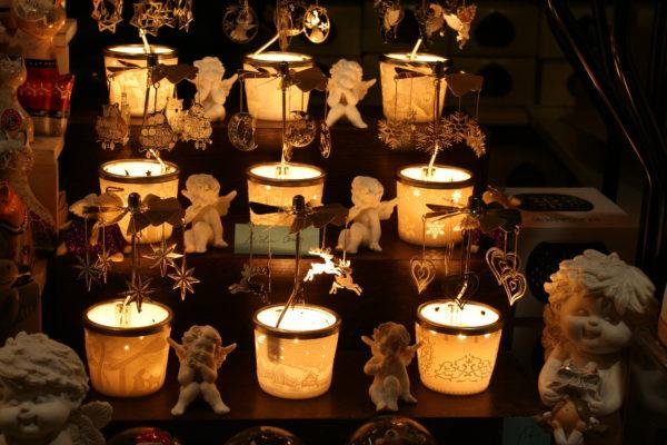 Lampenschirme für die Adventszeit